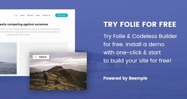 Folie | Creative Theme Download